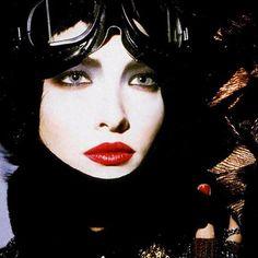 Tatjana PatitzVogue (1985) ad for Christian Dior Cosmetics