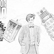 Coloring Doctor Who Pages Printable Online