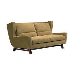 Ted Boerner's designs blend retro lines with a contemporary twist to create absolutely drool-worthy furniture. Lounge Furniture, Cool Furniture, Modern Sofa, Mid-century Modern, Retro Sofa, Cool Chairs, Sofas, Love Seat, Mid Century