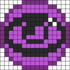 Pokemon Psychic Energy Symbol Perler Bead Pattern / Bead Sprite