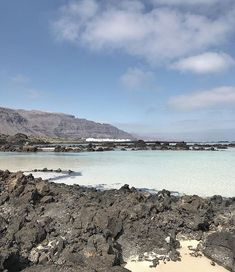 We took a little road trip today up to the north of the island and found the most beautiful beach - white sands (which you dont see much of in Lanzarote) and the clearest turquoise water. Still too cold for two thirds of us to swim in ;) x