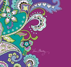 One of my favorite Vera Bradley patterns!