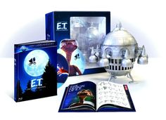 The Most Ludicrous DVD/Blu-ray Box Sets Ever   E.T. The Extra-Terrestrial – Limited Edition Spaceship with Digibook (Blu-ray, Digital Copy and UV Copy)
