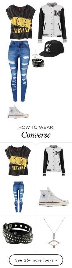 """""""Unbenannt #312"""" by kitty-lm on Polyvore featuring Converse, Chicnova Fashion, WithChic, Haculla and Feathered Soul"""