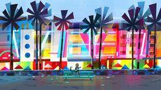 Artes de Joey Chou para o filme VIVO, da Sony Animation | THECAB - The Concept Art Blog 1 Peter, 1 John, Joey Chou, Sony, Studios, Fred, Big Hero 6, Visual Development, Art Blog