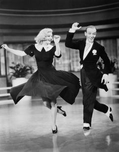 """Sure [Fred Astaire] was great, but don't forget that Ginger did everything he did, ...backwards and in high heels."""