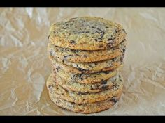 Parça Çikolatalı Amerikan Kurabiyesi - (Chocolate Chip Cookies) | The Kitchen Fest
