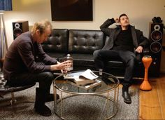Richard Armitage and Rhys Ifans behind the Scenes of Berlin Station (2016)