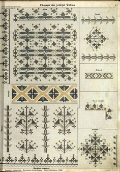 Folk Embroidery, Learn Embroidery, Embroidery Stitches, Embroidery Patterns, Cross Stitch Patterns, Machine Embroidery, Blackwork, Antique Quilts, Pattern Books