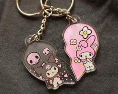 Kuromi | Etsy Hello Kitty Items, Sanrio Hello Kitty, Bff, My Melody Sanrio, Dr Shoes, Kawaii Accessories, Hello Kitty Accessories, Hello Kitty Collection, Sanrio Characters