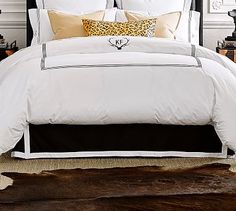 Ken Fulk Tailored Bed Skirt #potterybarn
