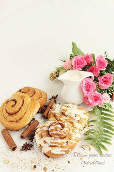 Pasiune pentru bucatarie- Retete culinare - Pagina 86 din 194 - Cinnamon Rolls, Desserts, Food, Tailgate Desserts, Deserts, Cinammon Rolls, Essen, Postres, Meals