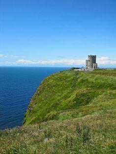 Ireland's Cliffs of Moher...O'Brien Castle