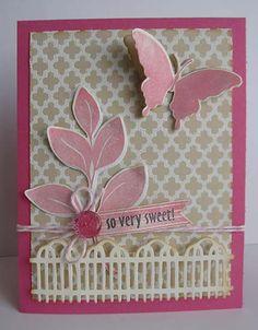 So sweet card by Daniela Dobson Therm O Web