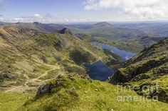 Wonderful spaciousness and beauty conveyed in this beautiful capture by Ian Mitchell Snowdonia National Park, Art Friend, North Wales, Beautiful Artwork, Art For Sale, Fine Art America, Ice Land, National Parks, My Arts
