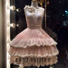 Ballerina inspired wedding dress