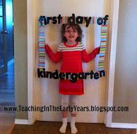 Classroom DIY: DIY Classroom Picture Frame, use for cover of parent gift