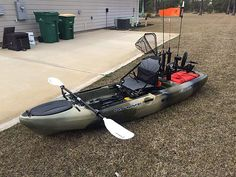 Last week, I demoed and then bought the Slayer Propel from Broxson's Outdoors, here in Navarre. Kayak Fishing Gear, Bass Fishing, Kayak Accessories, Manly Things, Hunting Guns, Fishing Charters, Canoes, Outdoor Fun, Toys For Boys