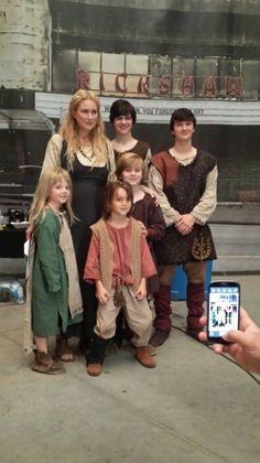Esther, Elijah, Finn, Kol, Klaus, Rebekah