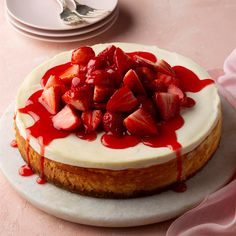 Strawberry Dessert Recipes, Strawberry Cheesecake, Cheesecake Recipes, Cheesecake Deserts, Chocolate Topping, Chocolate Flavors, Stevia, Valentines Day Cakes, Cupcake Cakes