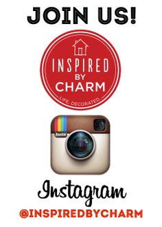 Are you on Instagram? Inspired by Charm is! Stop by and follow along for sneak peeks, behind-the-scenes, and other colorful ideas and insights: www.instagram.com/inspiredbycharm