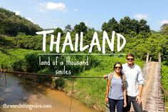Thailand: Land of a thousand smiles via The Wandering Soles -- Budget Travel, Us Travel, Round The World Trip, Northern Thailand, Our World, World Traveler, Thailand Travel, Cool Photos, Thailand Destinations