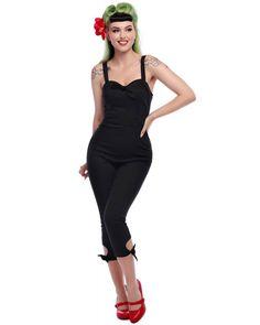 553786d842 Collectif Anna Knot Leg Cropped Jumpsuit - Sidecca