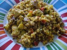 Poêlée de quinoa aux légumes et au poulet (4, 5 points), Recette Ptitchef