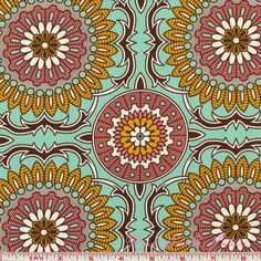 Joel Dewberry Bungalow Doily Mint - SATEEN - Click Image to Close