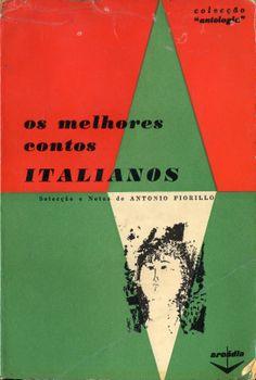 Os Melhores Contos Italianos   Capa de Victor Palla