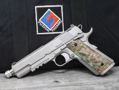 Fusion Firearms is the world's premier 1911 pistol manufacturer. We serve everything 1911 from unique custom made firearms to top-quality production pistols. We are a full blown custom shop and 1911 parts supplier. 1911 Parts, Custom 1911, M1911, 38 Super, Pistols, Chrome Finish, Firearms, Hand Guns, Weapons