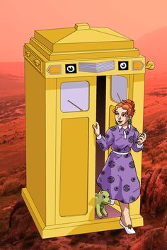 Mrs. Frizzle was definitely a Time Lord!  Way to go 'sailorptah' on deviantart, using CC by/noncom/share