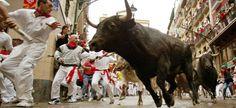 run with the bulls.