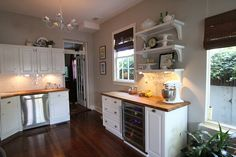 Final Kitchen Details & Our Big Kitchen Reveal - Old Town Home - Butcher Block Counters
