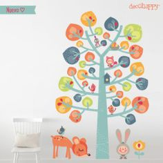 vinilos infantiles arbol dulce Wall Stickers, Wall Decals, Ideas Habitaciones, Animal Magic, Australian Animals, Tree Patterns, Home Wall Decor, Drawing For Kids, Clipart