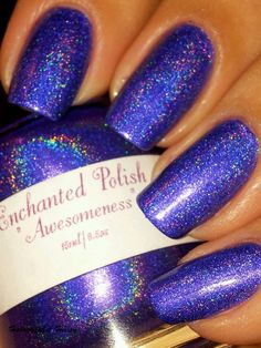 Holographic Hussy: Enchanted Polish Awesomeness