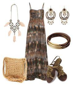 Maxidresses by outfits-de-moda2 on Polyvore featuring moda, Sugarhill Boutique, Sence Copenhagen, Chandelier and Pamela Love