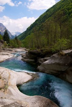 Val d'Osura in Ticino Canton, Switzerland