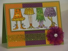 Glitter Babes vky by Vickie Y - Cards and Paper Crafts at Splitcoaststampers