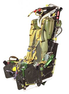 MK7 Ejection Seat. Over 2400 aircrew owe their lives to this seat. Currently flying in F-4 Phantom and Prowler.