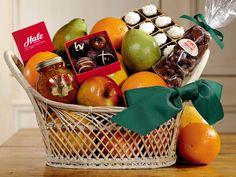 #Gourmet Buffet #Basket | Bountiful #Fruit Gift - Hale Groves #giftbaskets