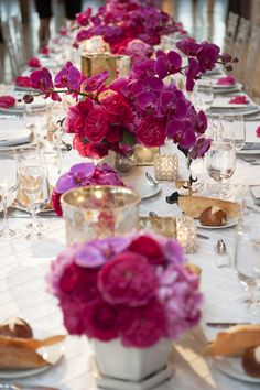 orchids of hawaii – - orchideen ideen Indian Wedding Centerpieces, Indian Wedding Flowers, Orchid Centerpieces, Floral Wedding, Wedding Colors, Wedding Decorations, Stage Decorations, Hot Pink Weddings, Wedding Flower Inspiration