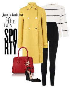 """Sporty gal"" by obsessedaboutstyle ❤ liked on Polyvore featuring L.K.Bennett"