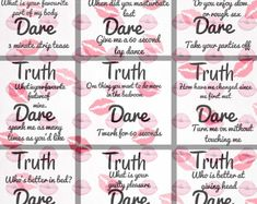 Couples truth or dare