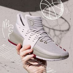online retailer f3f8b efef5 Cheap 2017 ADIDAS DAME 3 WEST CAMPUS In The Hand