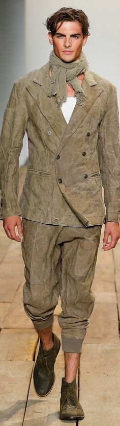Greg Lauren Menswear Spring-Summer