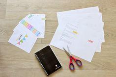 Fabriquer son bullet journal à partir d'un simple carnet