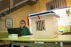 GALERIA DE FOTOS La votació per la independència a Olot l1-O