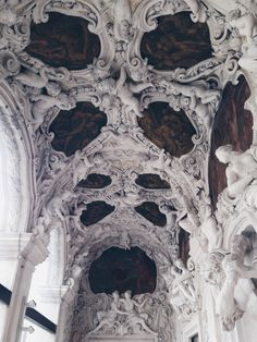 If building becomes architecture ,then it is art. Architecture Baroque, Art Et Architecture, Beautiful Architecture, Beautiful Buildings, Architecture Details, Classical Architecture, Oeuvre D'art, Aesthetic Pictures, Sculptures