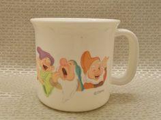 Disney's Seven Dwarfs Mug Plastic Cup Selandia Brand
